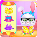 Cute Pets Caring and Dressup icon
