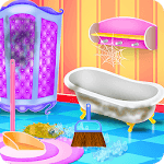 Doll House Cleaning Decoration icon