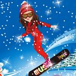 Shining Girl Skiing Dress Up icon
