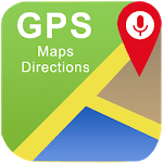 GPS Directions Finder : Maps Traffic & Travel for pc logo