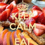 Keep Calm AND EAT icon