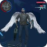 Immortal Angel Wings Hero : Devil Crime City icon