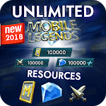 Instant mobil legends Reward Daily free diamond icon