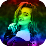 Rainbow Camera Effect Video Maker icon