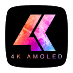 AMOLED 4K Wallpapers and Backgrounds icon