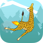 Giraffe Winter Sport Simulator icon
