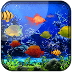 Fishes Live Wallpaper 2018 - Aquarium Koi Bgs icon