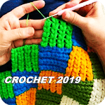 Crochet step by step. Learn crochet points icon