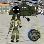 US Army Stickman Rope Hero counter terrorist for pc logo