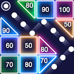 Bricks Breaker - Glow Balls icon