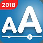 Enlarge Font: Change Font Size & Larger Font icon