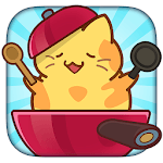 Baking of: Food Cats - Cute Kitty Collecting Game icon