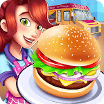 Burger Truck Chicago - Fast Food Cooking Game icon