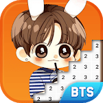 BTS Army Pixel - Number Coloring Books for pc logo