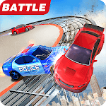 Car Bumper.io - Battle on Roof icon