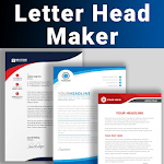 Letterhead Maker Logo Business letter pad template icon