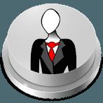 Slender Man Button Meme icon