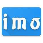 imo text calls & chat video icon