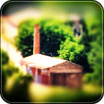 Tilt-Shift Camera icon