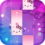 Magic Cat Piano Tiles - Crazy Tiles Kitty Sound icon