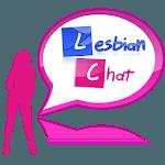 Lesbian chat icon
