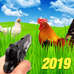 Chicken Shooter - Animal hunting 2019 icon