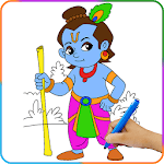 Lord Krishna Paint and Colors icon