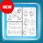 Anime Girl Drawing Tutorial icon