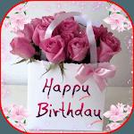 Birthday Gift Flowers icon