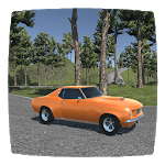 Real American Muscle Car Driving Simulator icon