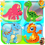 Memory game - Dinosaur matching icon