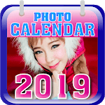 Create Free Photo Calendar 2019 icon