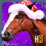 Customize Winter Racing Horse icon
