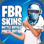 FBR Skins - Battle Royale Photo Editor icon