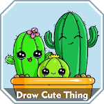 How to Draw Cute Things Easy Step by Step for pc logo