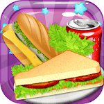sandwich maker baking fun games for pc logo