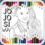 Jojo Siwa Coloring Book icon