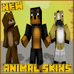Animals Skins Pack for MCPE icon