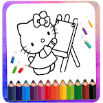 Kitty Coloring & Drawing Book - Expert Drawing icon