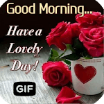 Morning Images Wishes Love Gif icon