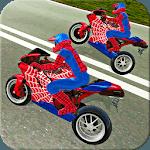 Bike SuperHero Driver Simulator icon