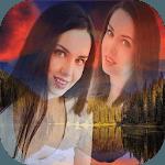blend collage photo mixer icon