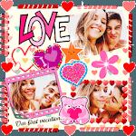 Creative Love Scrapbook 💟 Album Collage Maker icon