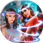 Light Crown Photo Editor 💫 Neon Effect Camera icon