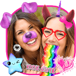 Snappy Photo Editor Stickers - Filters for Selfies for pc logo