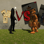 Slenderman VS Freddy The Fazbear icon