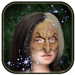 Scary Witch Photo Montage icon