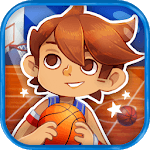Kids basketball (sport) icon