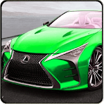Lexus LX 570 driving Stunt Simulator icon