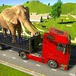 Wild Animal Transporter Truck Simulator Games 2018 icon